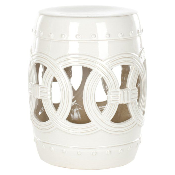2019 Holbrook Ceramic Garden Stools Regarding Holbrook Ceramic Double Coin Stool $102 On Wayfair (View 6 of 20)