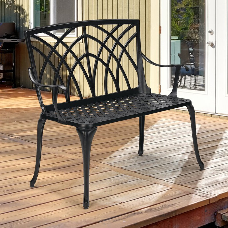 Featured Photo of Norrie Metal Garden Benches