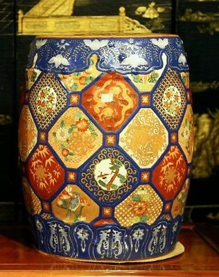 2019 Porcelain Garden Stool With Dragon Motif, Each $550 Obo (View 10 of 20)