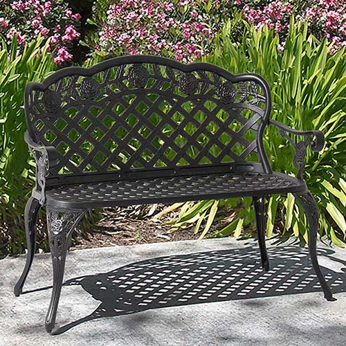 2020 21 Real Estate Closing Gifts (your Clients Will Remember Throughout Montezuma Cast Aluminum Garden Benches (View 19 of 20)