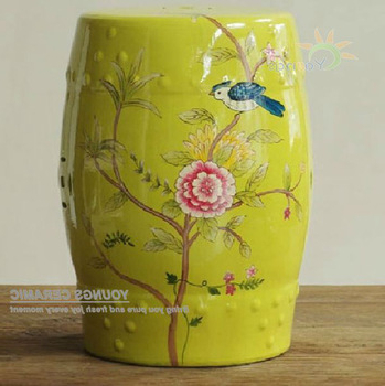 2020 Chinese Ceramic Stool Malaysia In Brasstown Lucky Coins Chinese Ceramic Garden Stools (View 14 of 20)