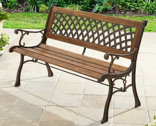2020 Michelle Metal Garden Benches With 6 Of The Best Patio Metal Benches (View 7 of 20)