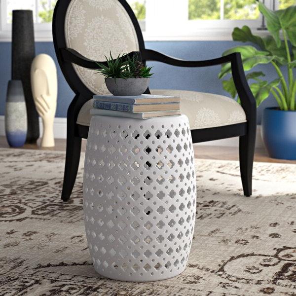 2020 Wurster Ceramic Drip Garden Stools In Garden Stools (View 17 of 20)