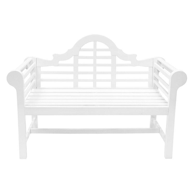 Alfon Wood Garden Benches With Regard To Famous Alfon Wood Garden Bench (View 3 of 20)