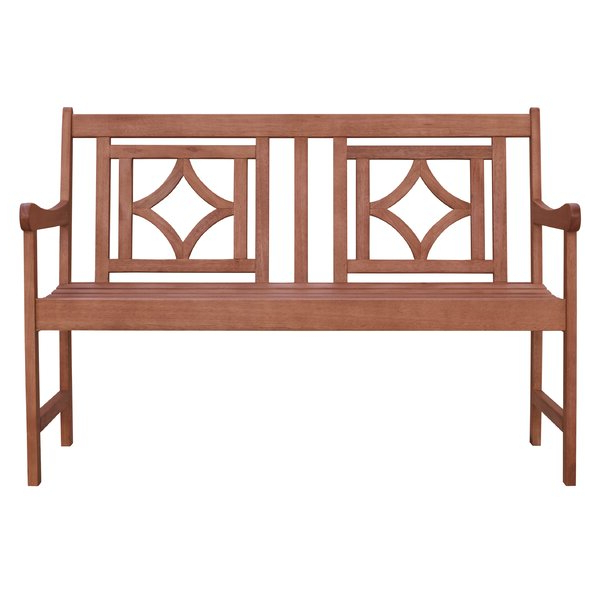 Amabel Patio Diamond Wooden Garden Bench Intended For Popular Amabel Patio Diamond Wooden Garden Benches (View 7 of 20)