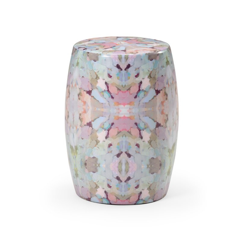 Arden Ceramic Garden Stool In Most Recent Maci Tropical Birds Garden Stools (View 3 of 20)