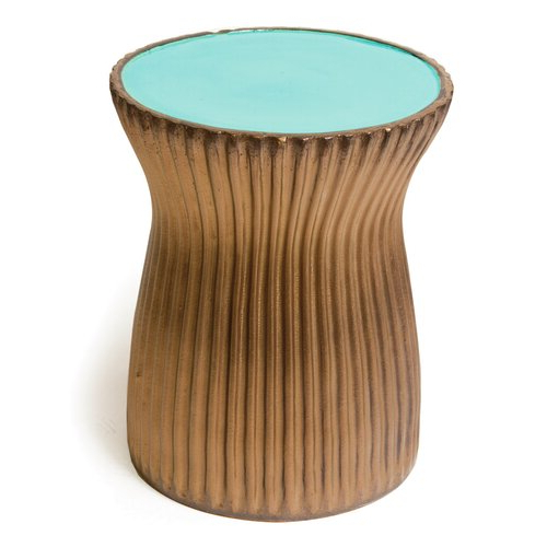 Arista Ceramic Garden Stools With Newest Ridged Ceramic Accent Stool (View 6 of 20)