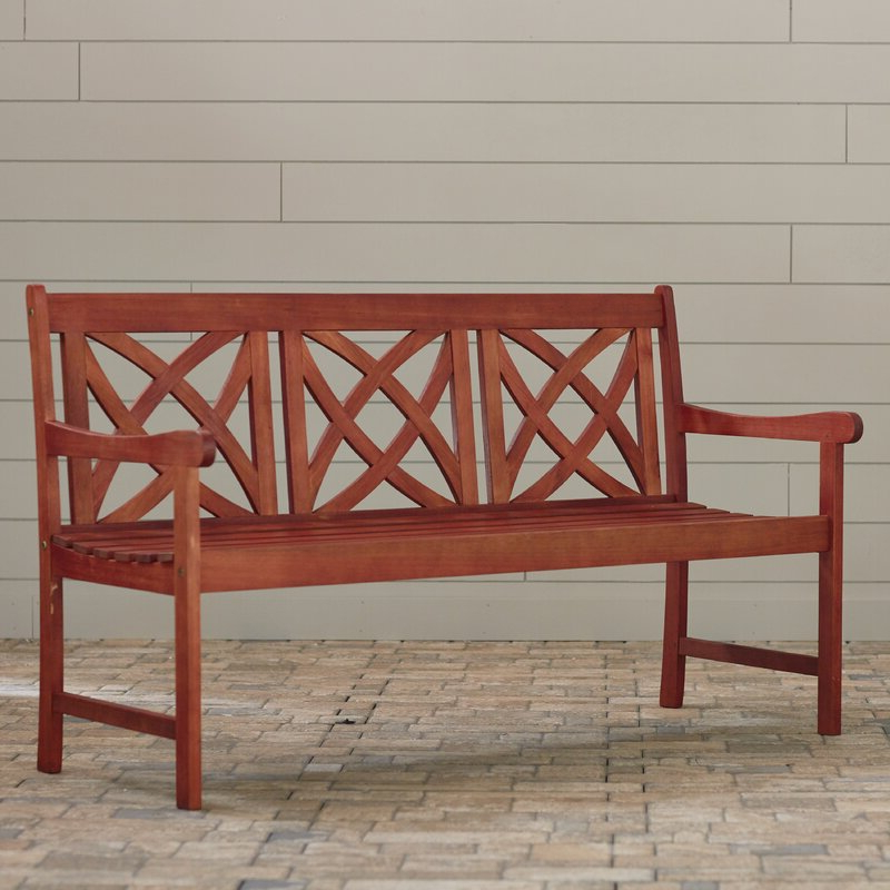 Avoca Wood Garden Bench For 2019 Avoca Wood Garden Benches (View 6 of 20)