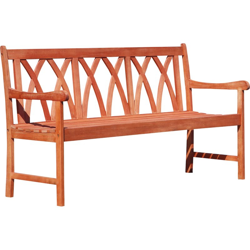 Avoca Wood Garden Benches Pertaining To Preferred Shanklin Eco Friendly Outdoor Hardwood Garden Bench (View 12 of 20)