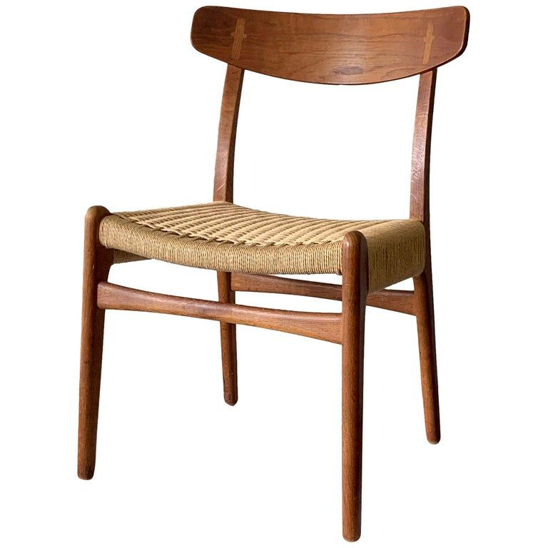 Best And Newest Brecken Teak Garden Benches Intended For Original Hans Wegner Ch 23 Chair In (View 18 of 20)