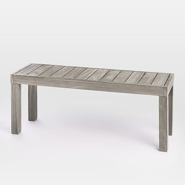 Best And Newest Pedrick Two Seat Wooden Picnic Bench – Vozeli With Regard To Ossu Iron Picnic Benches (View 17 of 20)
