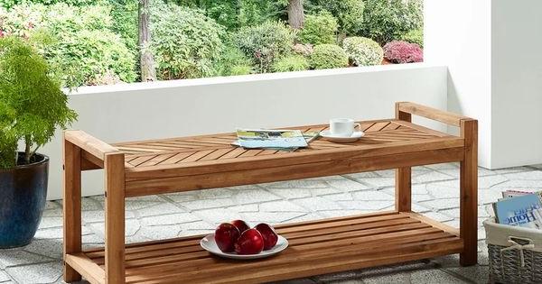 Best And Newest Skoog Chevron Wooden Garden Benches Regarding Breakwater Bay Skoog Chevron Wooden Storage Bench & Reviews (View 19 of 20)