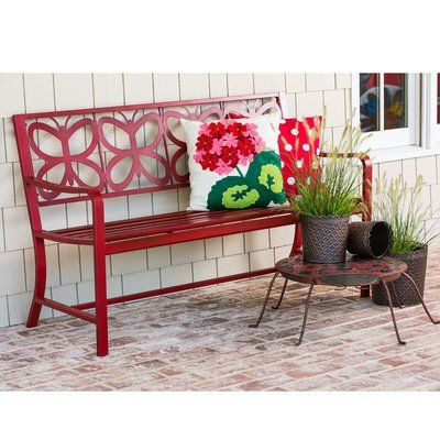 Blooming Iron Garden Benches In Well Liked Blooming Iron Garden Bench In (View 6 of 20)