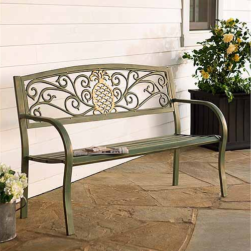 Blooming Iron Garden Benches Pertaining To Most Recent The Best Garden Benches Reviewed In (View 11 of 20)