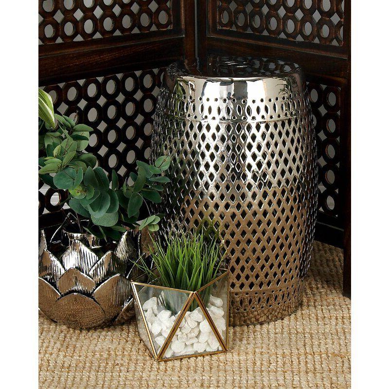 Canarsie Ceramic Garden Stools With Regard To Trendy Canarsie Ceramic Garden Stool In (View 3 of 20)