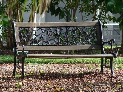 Cast Iron Bench (View 8 of 20)