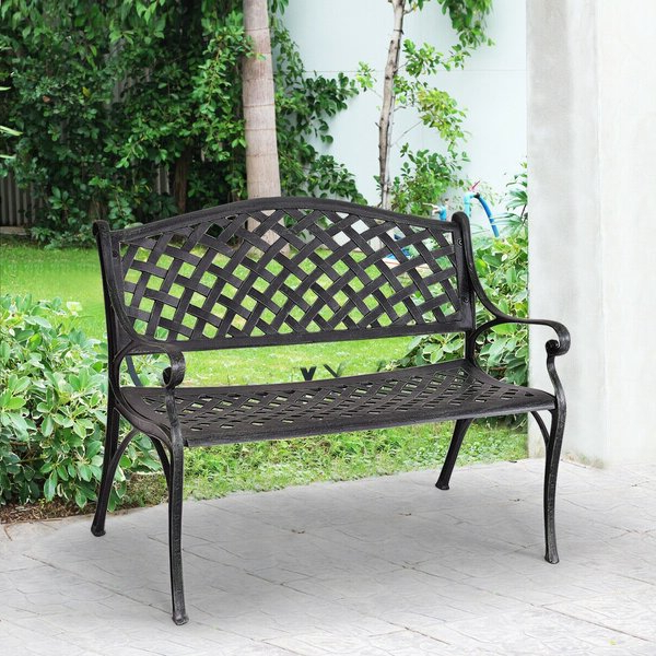 Cavin Garden Benches Throughout Newest Antique Outdoor Bench (View 14 of 20)