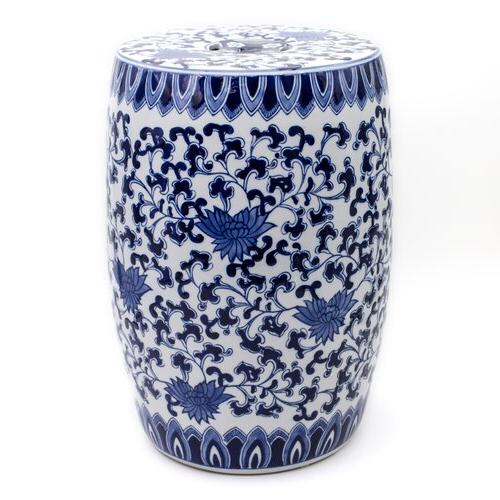 Ceramic Garden Stool Regarding Widely Used Williar Cherry Blossom Ceramic Garden Stools (View 13 of 20)