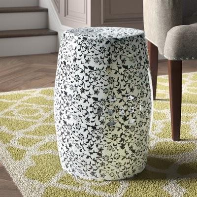 Ceramic Garden Stool With Regard To Popular Tufan Cement Garden Stools (View 17 of 20)