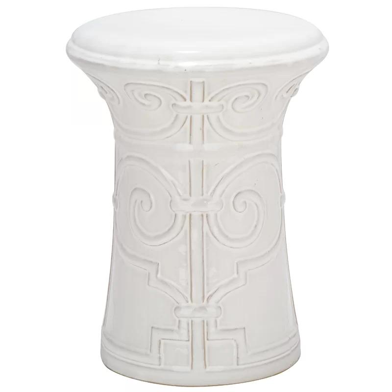 Ceramic Garden Stools (View 10 of 20)