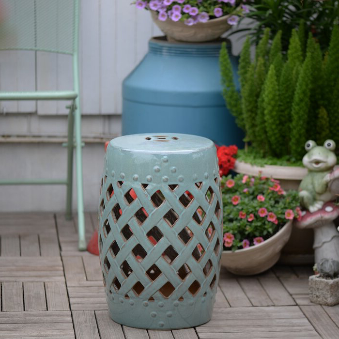 Ceramic Garden Stools (View 6 of 20)