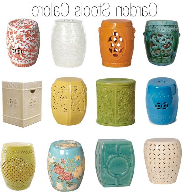 Ceramic Pertaining To Ceramic Garden Stools (View 3 of 20)