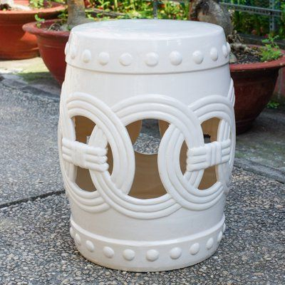 Charlton Home® Kilpatrick Feng Shui Ceramic Garden Stool Inside 2019 Weir Garden Stools (View 16 of 20)