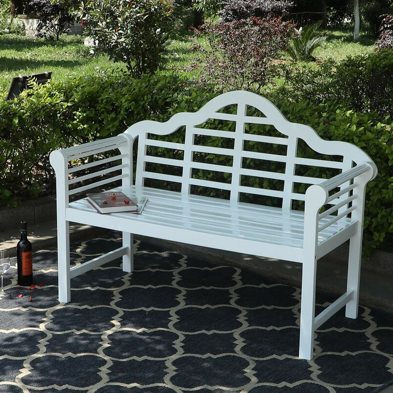 Featured Photo of Ahana Wooden Garden Benches