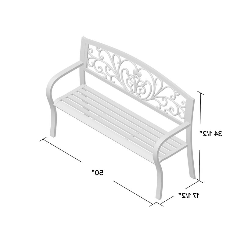 Current Blooming Iron Garden Bench With Blooming Iron Garden Benches (View 2 of 20)