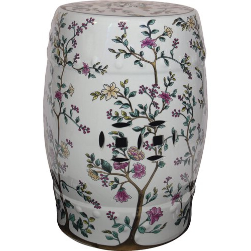 Current Maci Tropical Birds Garden Stools Regarding Ceramic Garden Stool (View 7 of 20)