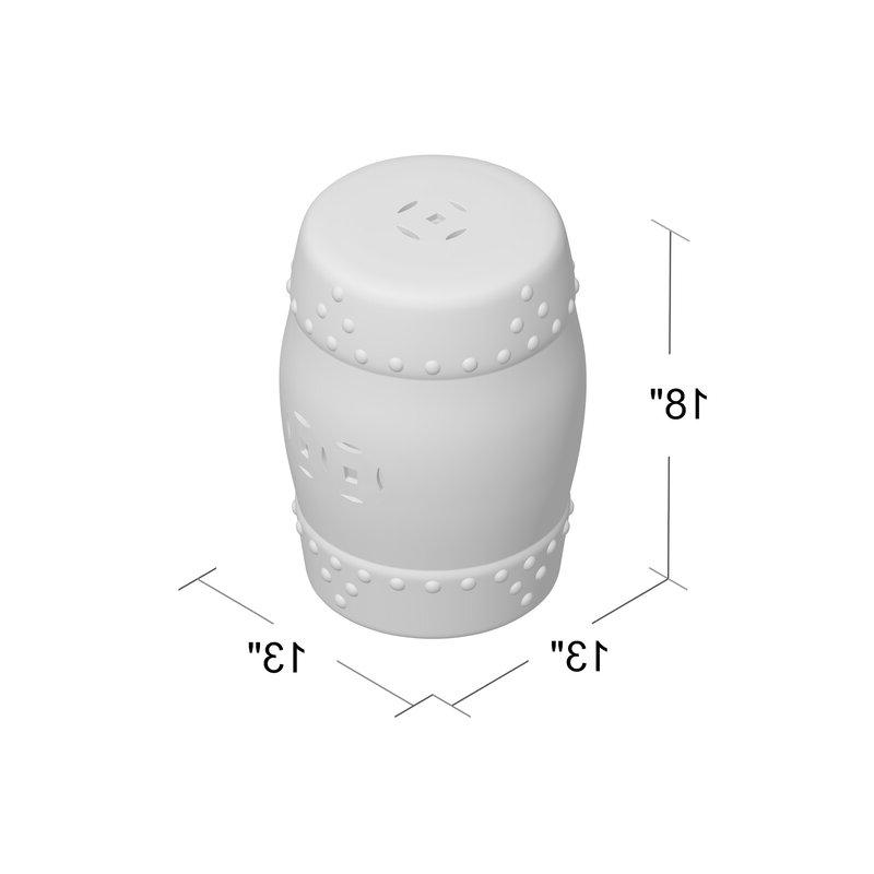 Current Murphy Ceramic Garden Stool With Regard To Murphy Ceramic Garden Stools (View 3 of 20)