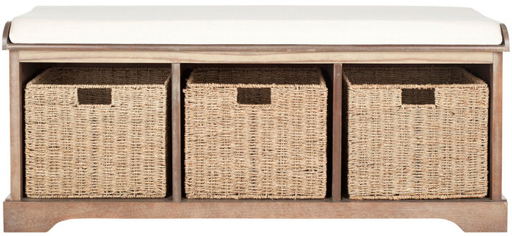 Duplicate Lonan Wicker Storage Bench In Fashionable Lublin Wicker Tete A Tete Benches (View 17 of 20)