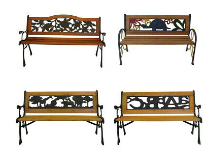 Ebay Throughout Blooming Iron Garden Benches (View 20 of 20)