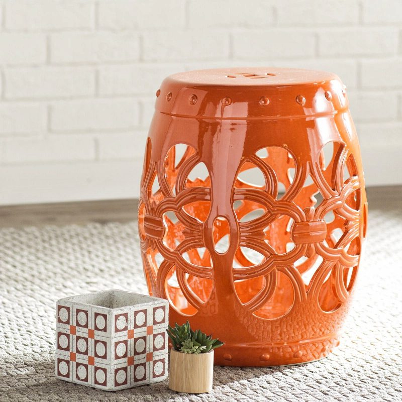 Famous Keswick Ceramic Garden Stools Within 27 Best Garden Stool Ideas: Beautiful & Practical (View 13 of 20)