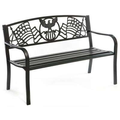 Famous Montezuma Cast Aluminum Garden Benches Regarding 24 In – Gardenised – The Home Depot (View 17 of 20)