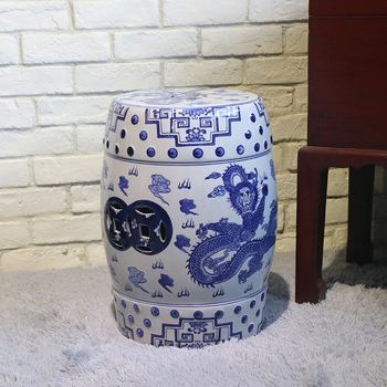 Fashionable Dragon Garden Stools Within Antique Chinese Blue And White Porcelain Garden Stools With Dragon Design – Buy Blue And White Garden Stools,porcelain Garden Stool,dragon Stool (View 7 of 20)