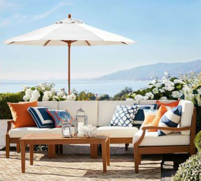 Fashionable Hampstead Teak Sectional (View 20 of 20)
