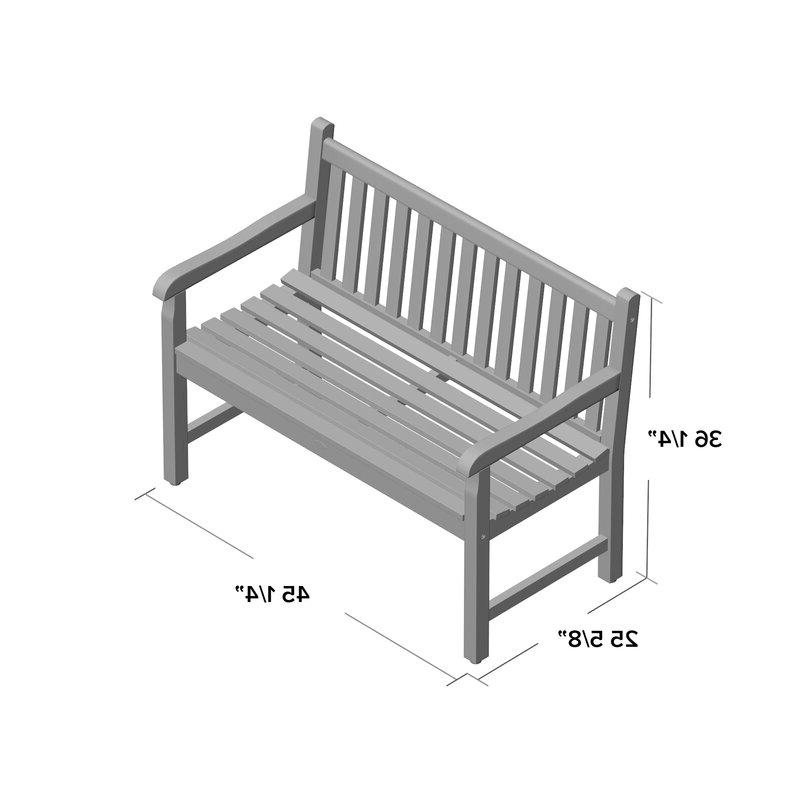 Favorite Hampstead Heath Teak Garden Bench With Hampstead Teak Garden Benches (View 9 of 20)