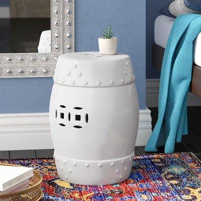 Favorite Kelston Ceramic Garden Stools With Willa Arlo Interiors Kelston Garden Stool Colour: White (View 11 of 20)