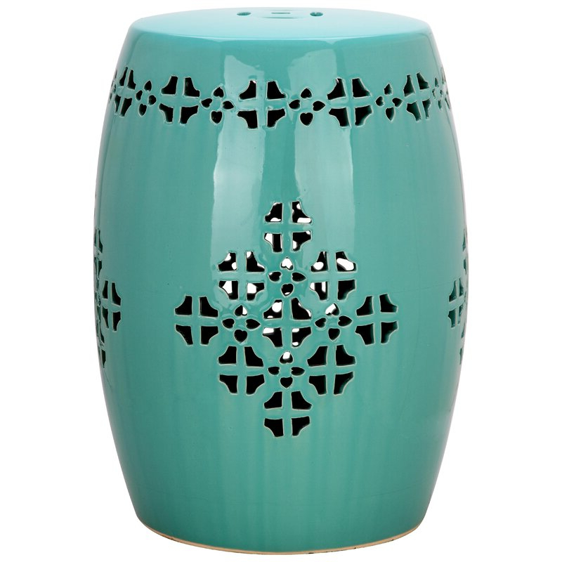 Feliciana Ceramic Garden Stools Intended For Newest Lorelei Ceramic Garden Stool (View 17 of 20)