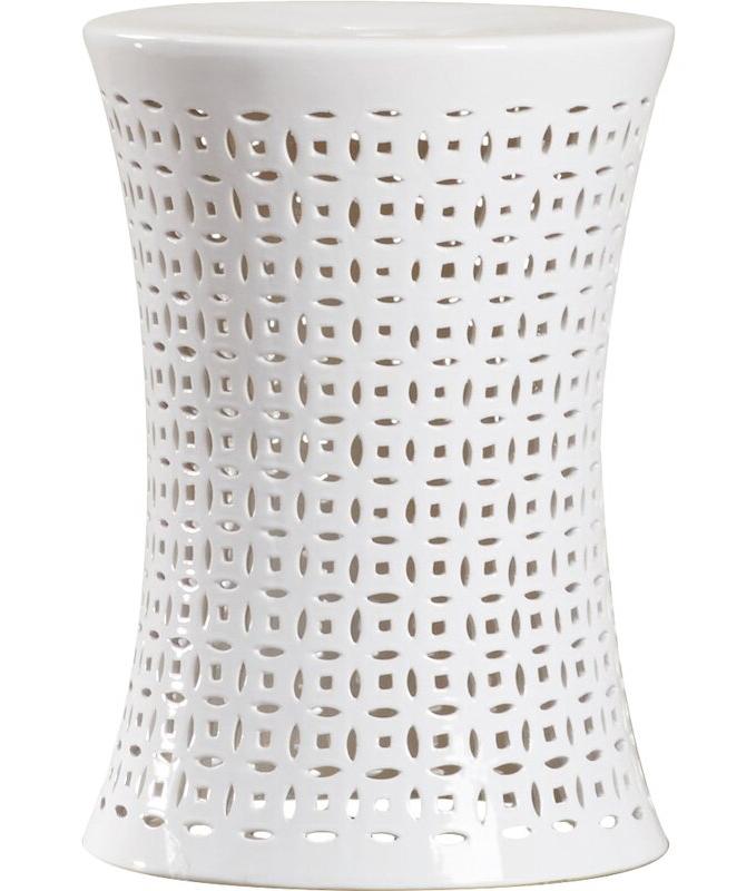 Feliciana Ceramic Garden Stools Pertaining To Well Liked Zenobia Ceramic Garden Stool (View 16 of 20)