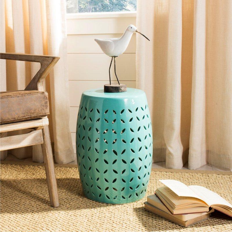 Feliciana Ceramic Garden Stools Throughout Trendy Feliciana Ceramic Garden Stool (View 4 of 20)