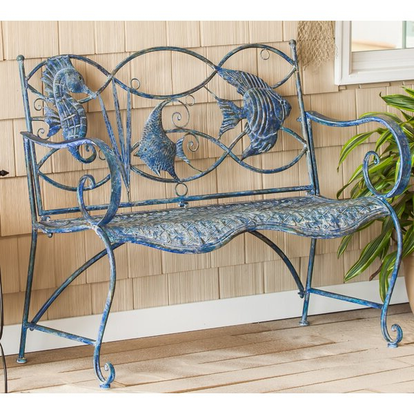 Flamingo Metal Garden Benches With Most Recently Released Small Metal Garden Bench (View 19 of 20)