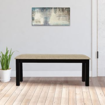 Flora Solid Wood Six Seater Dining Bench In Walnut Colorhometown Pertaining To Well Liked Walnut Solid Wood Garden Benches (View 15 of 20)