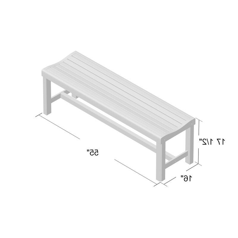 Gabbert Wooden Garden Bench Intended For Most Up To Date Gabbert Wooden Garden Benches (View 2 of 20)