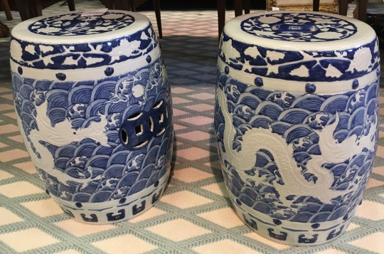 Garden Stool – Blue And White Chinese Porcelain Garden Within Fashionable Dragon Garden Stools (View 17 of 20)