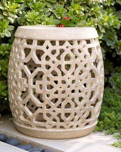 Garden Stool, Ceramic (View 15 of 20)