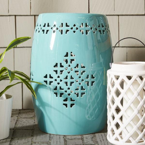 Garden Stools In 2020 Wurster Ceramic Drip Garden Stools (View 16 of 20)
