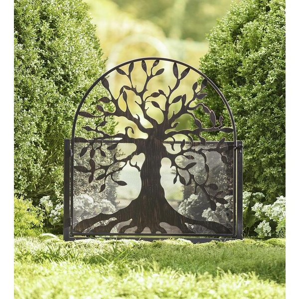 Garden Tree Of Life Gate Within Fashionable Aranita Tree Of Life Iron Garden Benches (View 16 of 20)