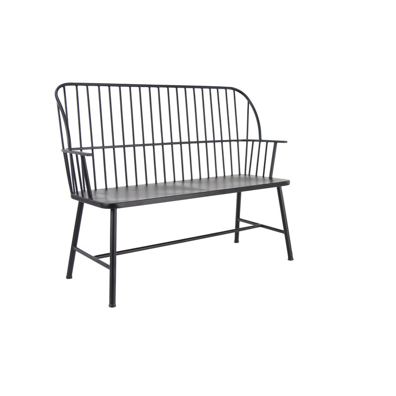 Featured Photo of Gehlert Traditional Patio Iron Garden Benches
